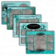 """11"""" x 8.5"""" Scrapbook Pages (Landscape A)"""